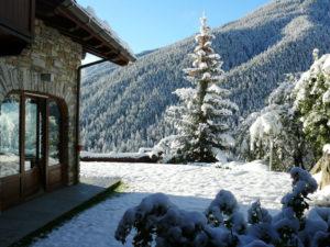 Vista esterna invernale